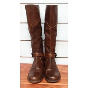 Frye Phillip Wide Calf Riding Boots 6